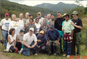 Medical group poses with their Honduran helpers